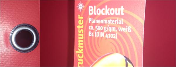 Blockout Banner qm 49,00 €
