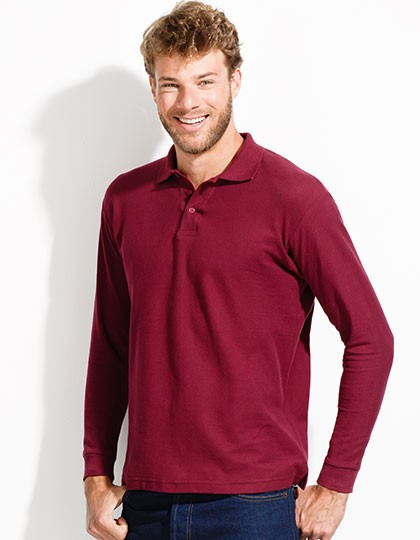 Langarm Poloshirt 1.549