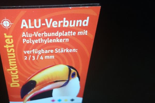 Alu-Verbundplatte